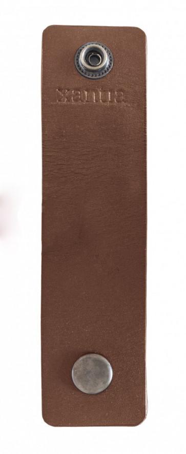 Servettringar bruna, 4 st