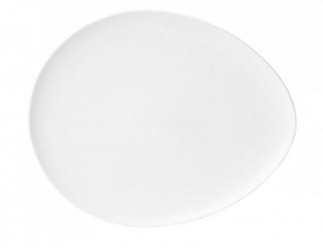 Tallrik Oval Athos 12x10cm