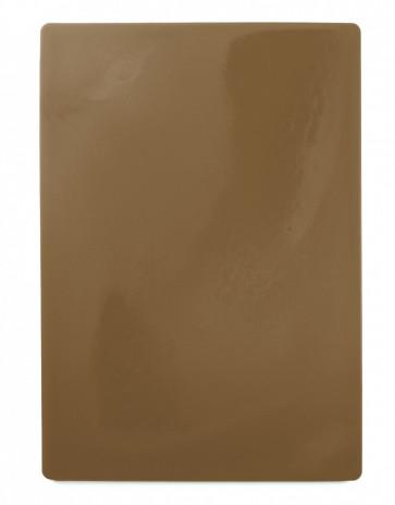Skärbräda 49,5x35cm, brun