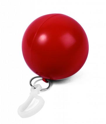 Ponchoboll, röd