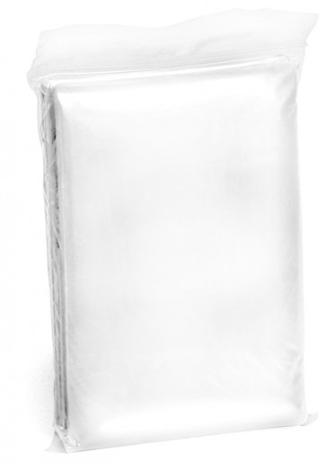 Engångsponcho, transparent