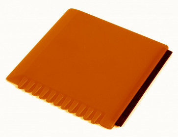 Isskrapa, orange