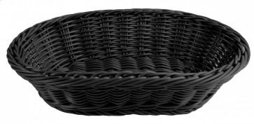 Brödkorg 29x18,5cm, svart