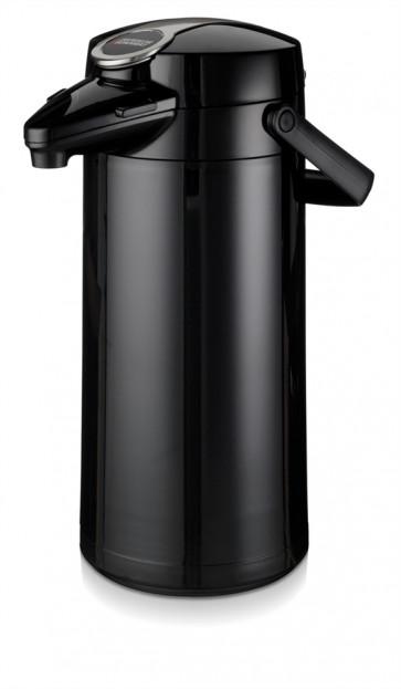 Bonamat pumptermos 2,2 liter Svart Metallic