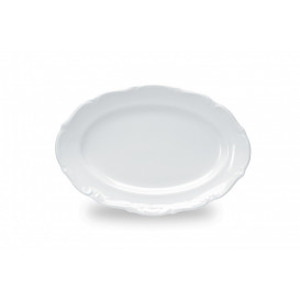 Tallrik oval MariaTeresa 33x22