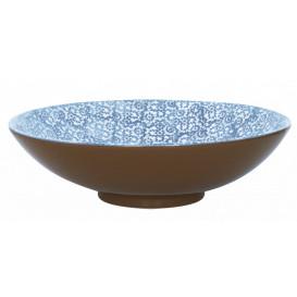 Salladsskål L Vesta Ø40cm, blå