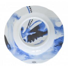 Tallrik djup Ø 23cm Juno, blå