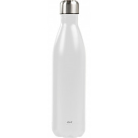Ståltermos flaska 0,75 L, vit