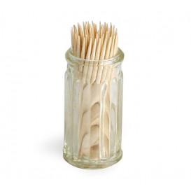 Glasbehållare för tandpetare