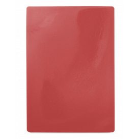 Skärbräda 49,5x35cm, röd