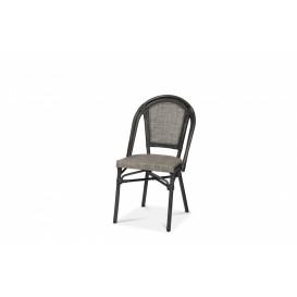 Paris stol, khaki melerat