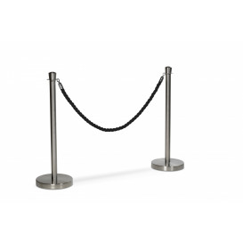 Köstolpe, set om 2 stolpe+1 svart rep