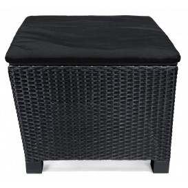 Lyon hörnbord 59x59cm, svart
