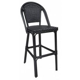 Paris barstol, svart