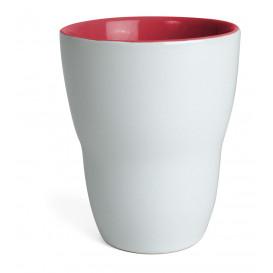 Mugg Venus, vit/röd