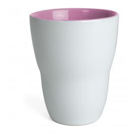 Mugg Venus, vit/rosa