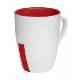 Mugg Rand, röd