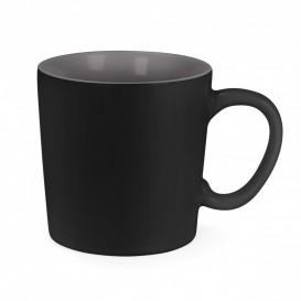 Mugg Aurora, svart/grå