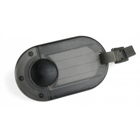 Bagagebricka oval, svart