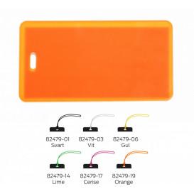 Bagagebricka, orange