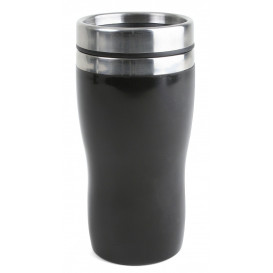 Bilmugg plast liten, svart