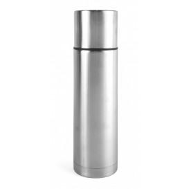Ståltermos 0,75 L, stål/stål