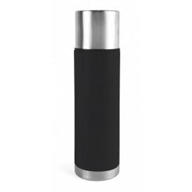 Ståltermos 0,75 L, stål/svart