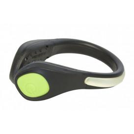 LED ljus klämma, svart/grön