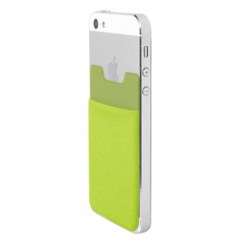 Mobile pouch, lime