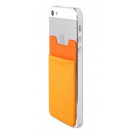 Mobile pouch, orange