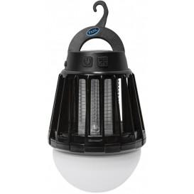 Myggfälla med LED lampa Svart