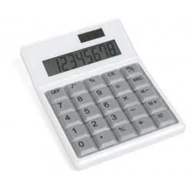 Miniräknare PC-tangent, vit