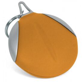 Nyckelring med duk, orange