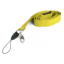 Nyckelband, gul