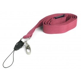 Nyckelband, rosa