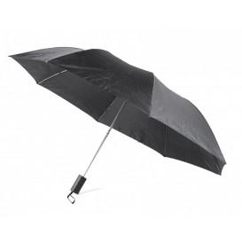 Paraply ihopfällbart, svart