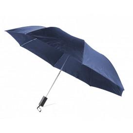 Paraply ihopfällbart, marin