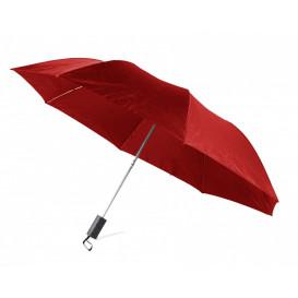Paraply ihopfällbart, röd