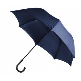 Paraply m gummikrycka, marin
