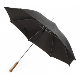 Paraply stormsäkert, svart