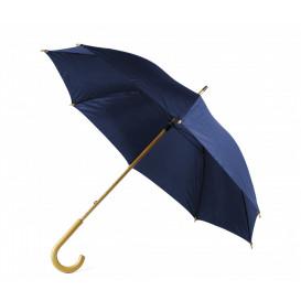 Paraply m träkrycka, marin