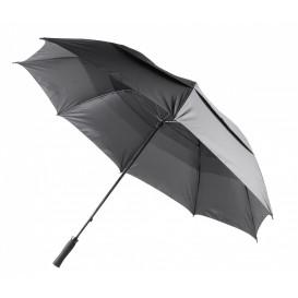 Golfparaply vindsäkert, svart