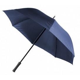 Paraply m gummihandtag, marin