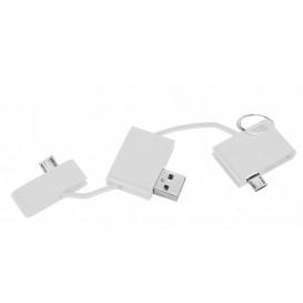 Laddare USB, vit