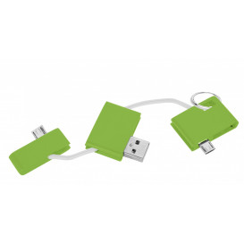 Laddare USB, lime
