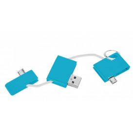 Laddare USB, turkos