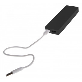 Power bank, svart