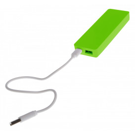 Power bank, lime