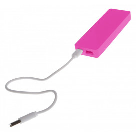 Power bank, cerise