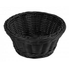 Brödkorg Ø 18,5cm, svart